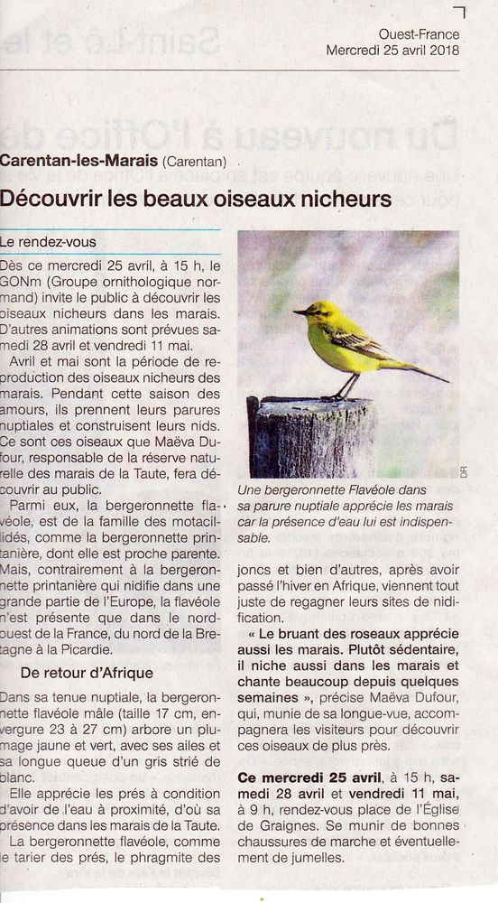 Ouest-France 25_04_2018