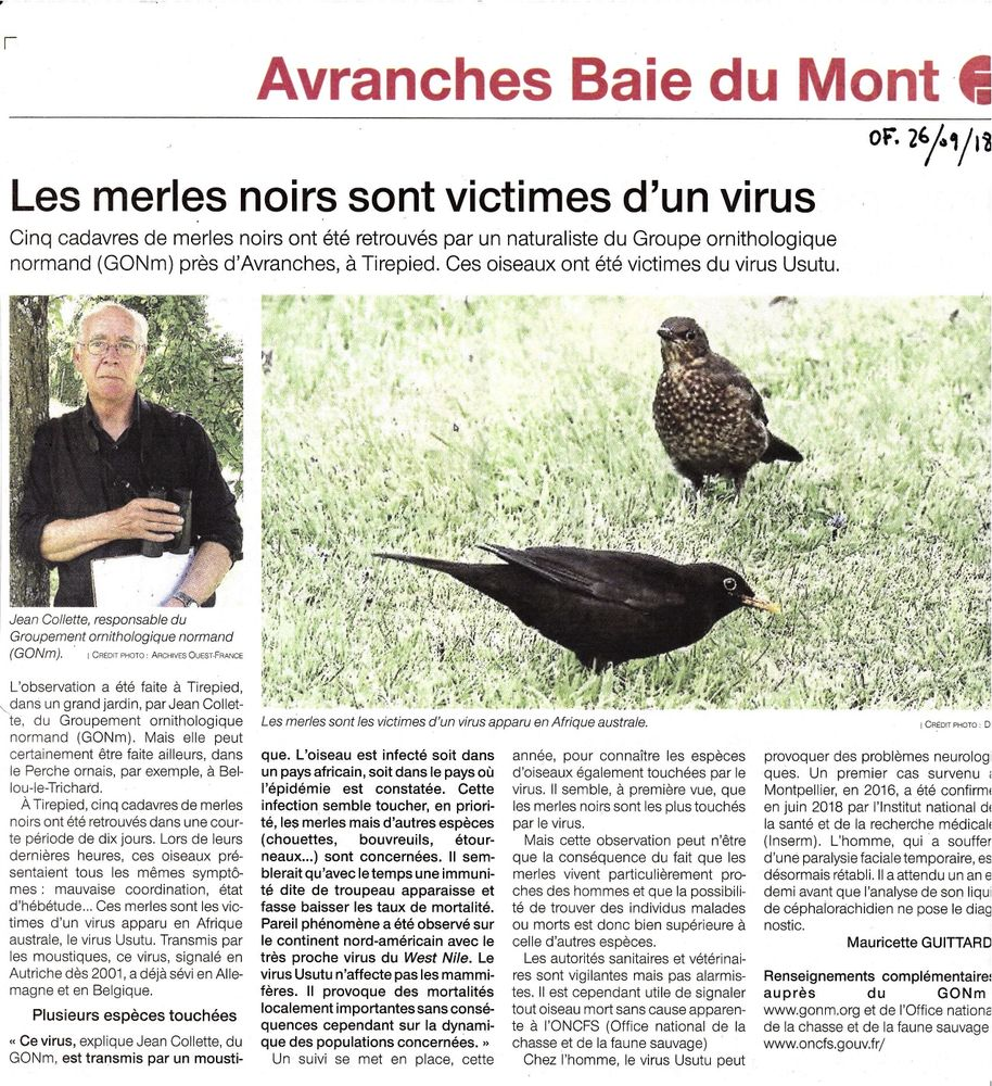 Ouest-France Avranches26_09_2018