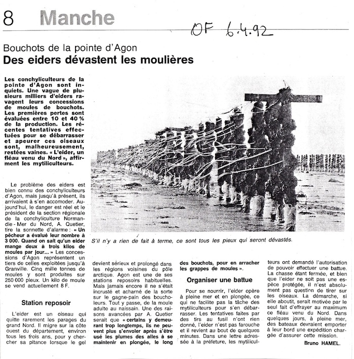 Ouest-France 6 avril 1992