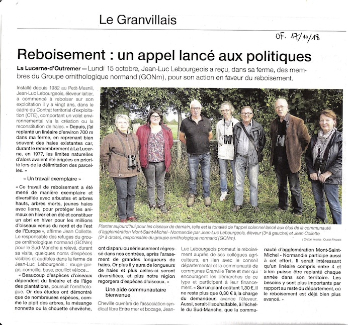 Ouest-France 17/10/2018