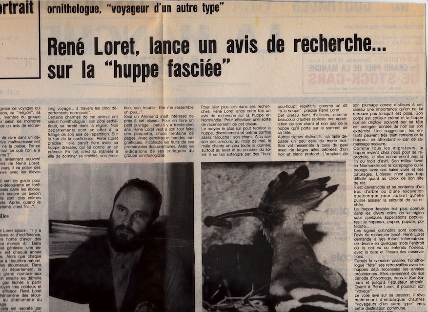 article, la Manche libre, 15 mai 1983
