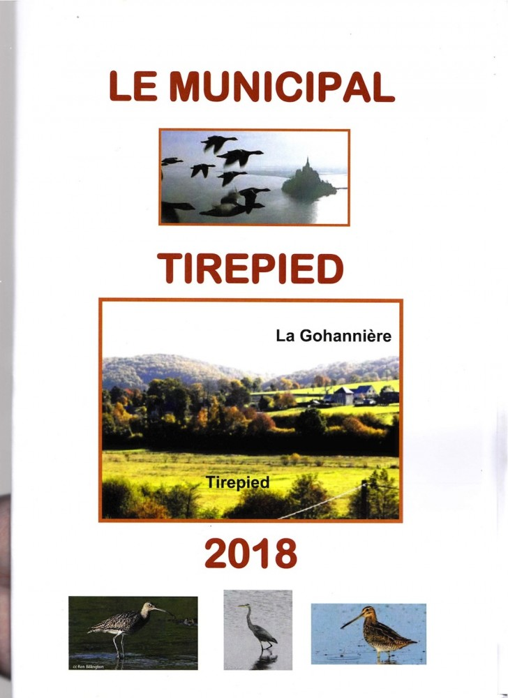 Bulletin municipal 2018 de Tirepied