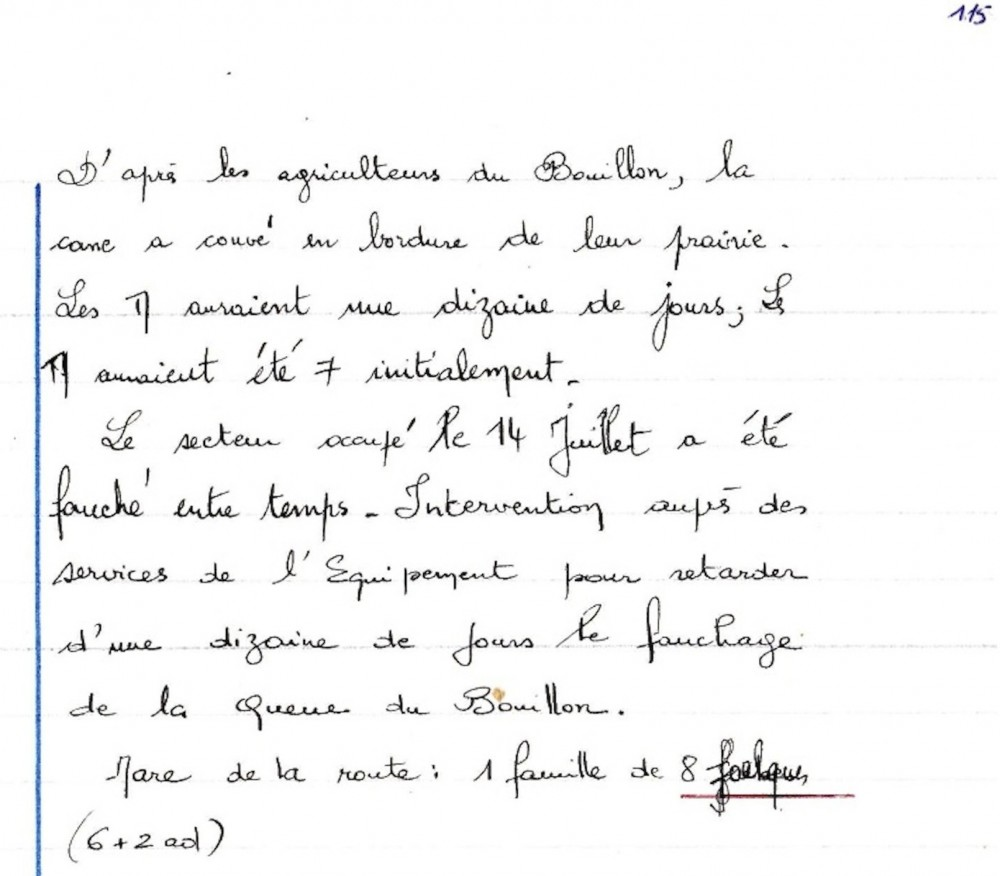 Notes du 17 juillet 1978 ; cahier de notes n°3 p 115.