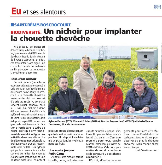 L'informateur, journal de Seine-Maritime en avril 2019