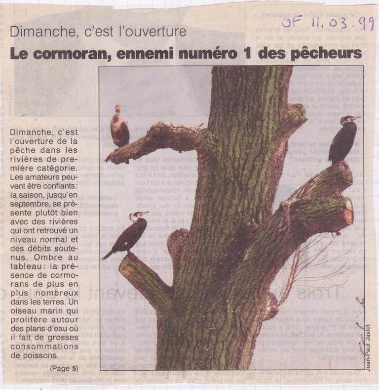 Ouest France, 11 mars 1999